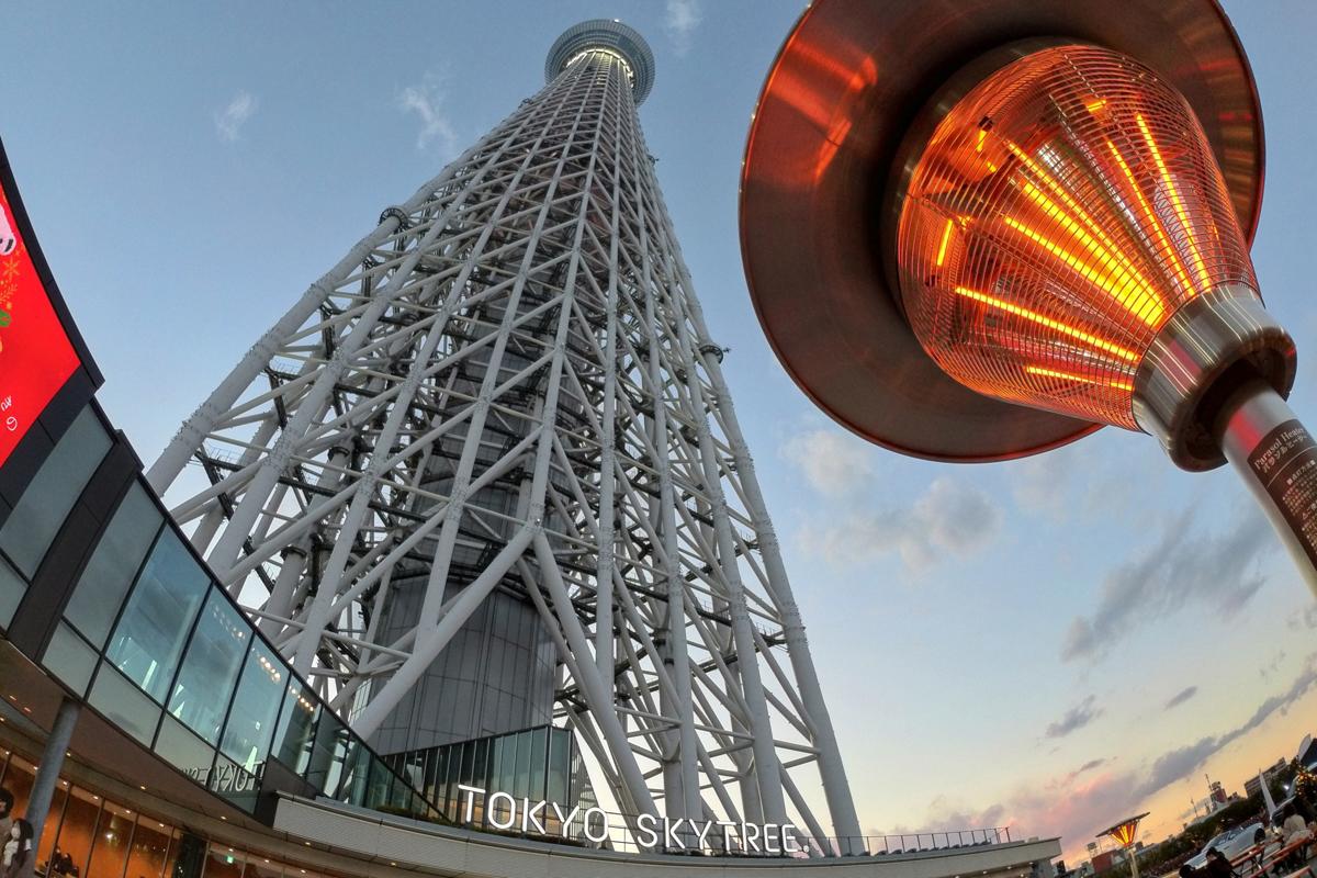 Tokyo Solamachi: festliche Weihnachtsstimmung