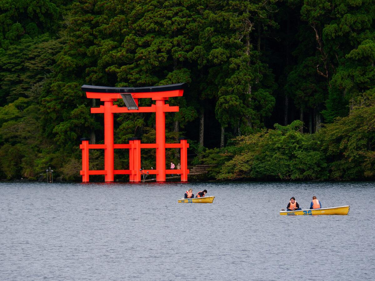 Wandern in Hakone – die alte Tokaido Straße und der Ashinoko See